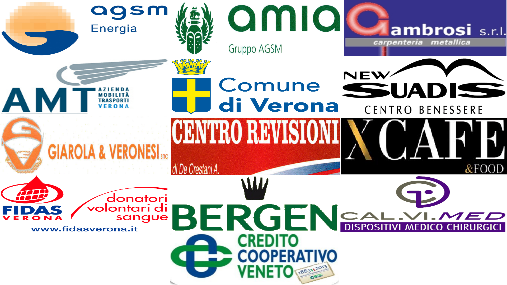 Calendario Amia Verona.Grazie A Tutti I Nostri Sponsor Audace C5 Verona